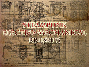 Steampunk_machine_Brushes_by_necrosensual_art